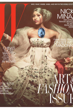 The November issue of 'W'.