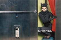 Carine's fall Chanel campaign.