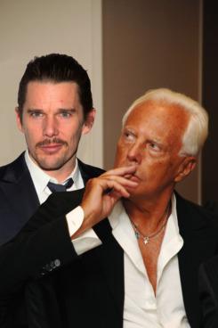 Here's Giorgio pondering the similarities.