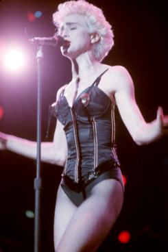 Madonna and her $90,000 bustier.