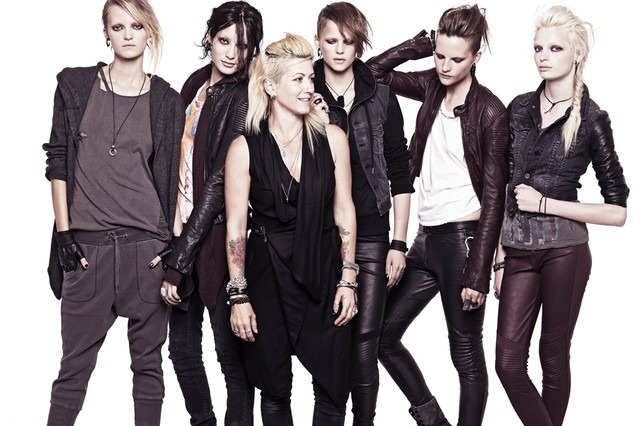 Trish Summerville and her collection for H&M.