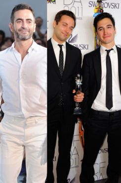 Marc Jacobs; Jack McCollough and Lazaro Hernandez.