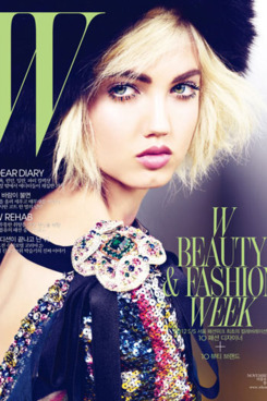 Lindsey Wixson for Korean W.