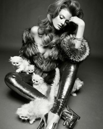 Constance Jablonski in Vogue Italia.