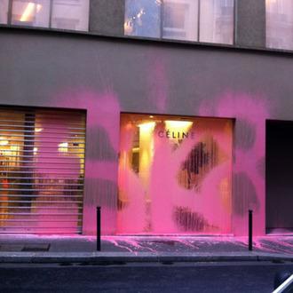 The Céline storefront