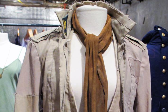 The E1 Khaki Shirt Jacket by Greg Barracks.