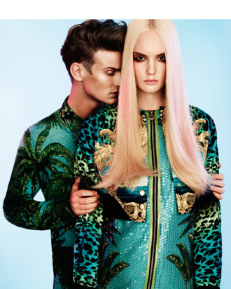Versace for H&M in 'Rodeo' Magazine