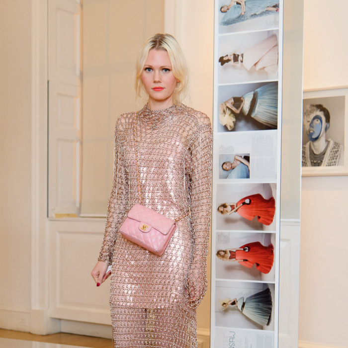 LONDON, UNITED KINGDOM - NOVEMBER 03: Katie Shillingford attends exhibition and book launch celebrating the monthly style title's 20th anniversary at Somerset House on November 3, 2011 in London, England. (Photo by Nick Harvey/WireImage)