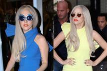 LONDON, UNITED KINGDOM - NOVEMBER 15: Lady Gaga visits a retro clothing shop, RELLIK, on November 15, 2011 in London, England. (Photo by Alex Moss/FilmMagic)         LONDON, UNITED KINGDOM - NOVEMBER 15: Lady Gaga seen leaving her hotel on November 15, 2011 in London, England. (Photo by Neil Mockford/FilmMagic)