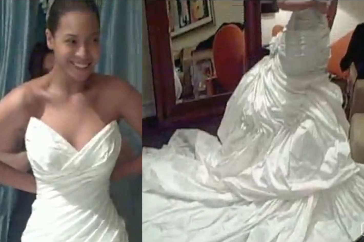 Guess Who Designed Beyoncé\'s Wedding Dress?