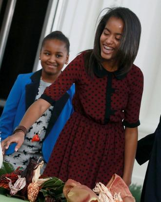 Malia Obama.