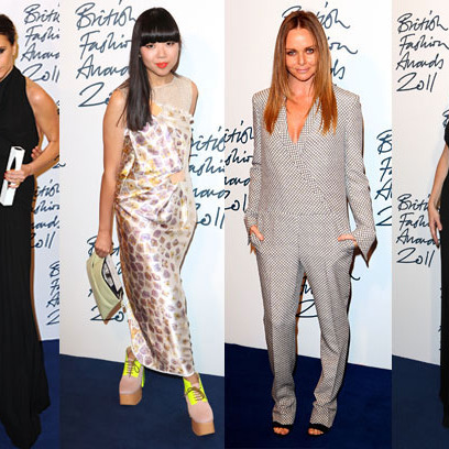 See What Kate Hudson, Victoria Beckham, Alexa Chung, and More Wore to the British  Fashion Awards 47813ea4a842