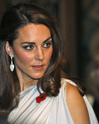 Kate's likely expression when told she'd need FIVE outfits a day.