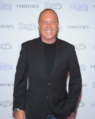 NEW YORK, NY - DECEMBER 01: Michael Kors attends People Magazine and Christie's Elizabeth Taylor Collection preview event at Christie's on December 1, 2011 in New York City. (Photo by Michael Loccisano/WireImage for People Magazine)