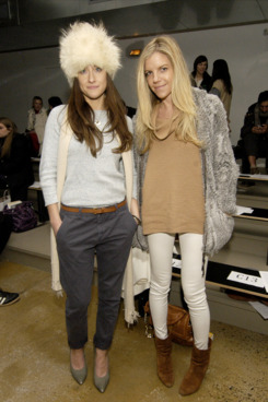 Shopbop style director Morgan Wendelborn (left) and Kate Ciepluch.