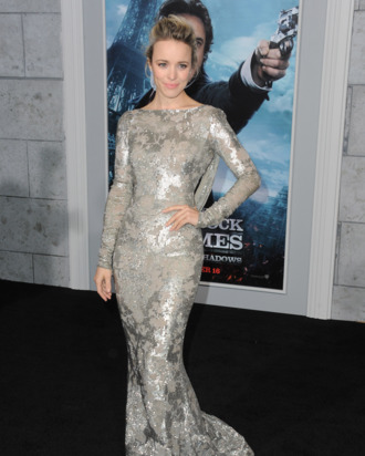 WESTWOOD, CA - DECEMBER 06: Actress Rachel McAdams arrives at the Los Angeles premiere of