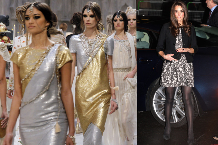 The Chanel pre-fall show, and Kate Middleton in her $100 Zara (with a Ralph Lauren blazer).