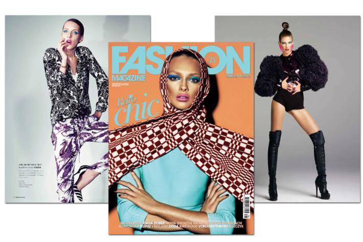 Iris Egbers for <em>Numéro</em> Tokyo; Daga Ziober for <em>Fashion</em>; Kendra Spears for <em>Numéro</em> Tokyo.