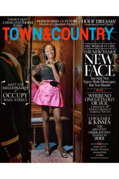 Shala Monroque for <em>Town & Country</em>.