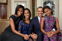 The Obama Family Portrait