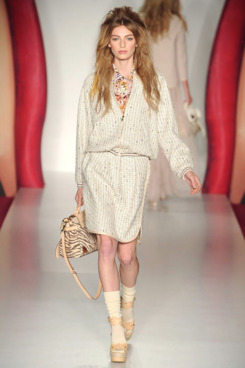 A look from Mulberry's spring 2012 collection.