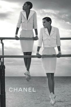 Saskia and Joan Smalls for Chanel.