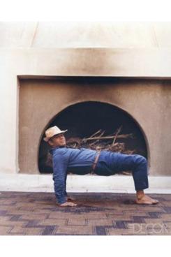Christian Louboutin; courtesy of <em>Elle Decor</em>.