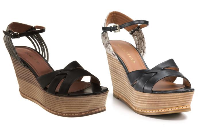 Derek Lam's sandal (left) and Ivanka Trump's (right): twins!