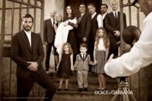 Dolce & Gabbana's spring 2012 menswear campaign.