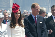 OTTAWA, ON - JULY 1:  Catherine, Duchess of Cambridge and Prince William, Duke of Cambridge attend Canada Day Celebrations at Parliament Hill on day 2 of the Royal Couple's North American Tour on July 1, 2011 in Ottawa, Canada. The newly married Royal Couple are on the second day of their first joint overseas tour. Ottawa is the start of a 12 day visit to North America which will take in some of the more remote areas of the country such as Prince Edward Island, Yellowknife and Calgary. The Royal couple will be joining millions of Canadians in taking part in today's Canada Day celebrations which mark Canada's 144th Birthday.