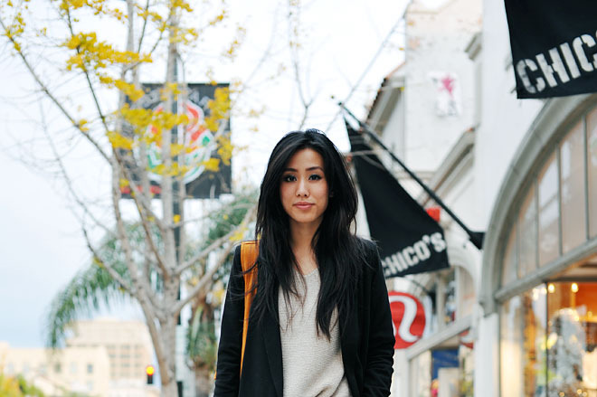 Jenny Ong, shot in L.A. for Neon Blush, via Lookbook.nu.