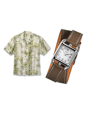 Hawaiian shirts and Hermes watches, riding high in 2011.