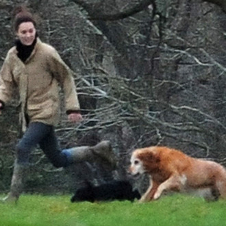8343686 Prince William and Kate Middleton relaxed at Kate Middleton's parents house before the New Year's Eve party thrown by sister Pippa Middleton in Bucklebury, England on December 31st, 2011.