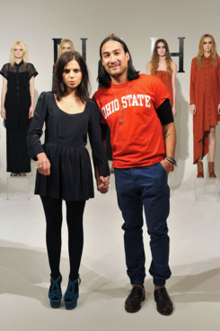 Nahm's designers Ally Hilfiger and Nary Manivong.