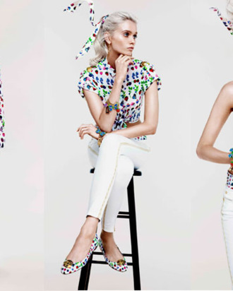 Versace for H&M's resort collection.
