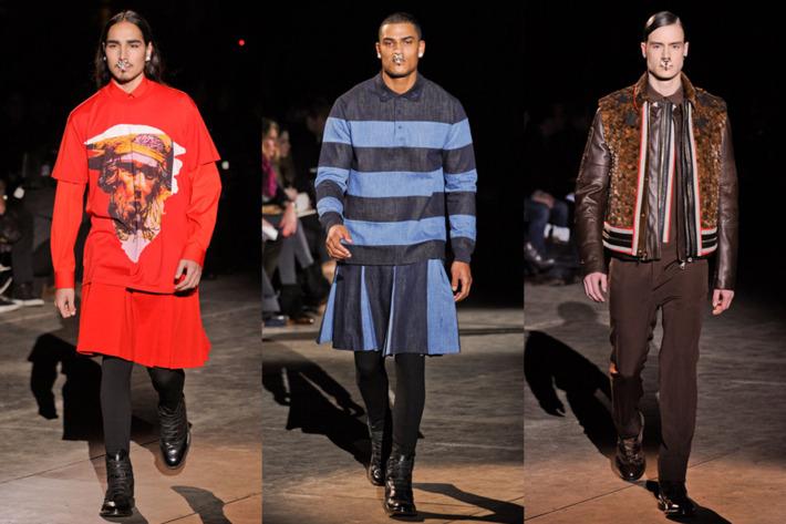 Givenchy's fall 2012 menswear.