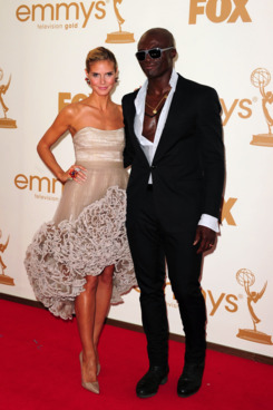 Heidi Klum and Seal this past September.