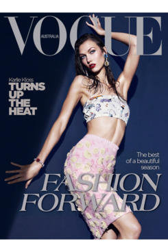 Karlie's new cover.