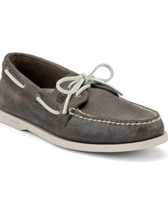 A Sperry boat shoe.