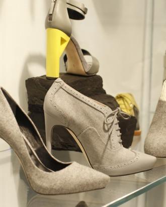 Shoes by Rachel Roy; courtesy of WWD, Thomas Iannaccone