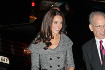 Duchess Of Cambridge, Kate Middleton is seen here arriving at The National Portrait Gallery In London.         <P>         <B>Ref: SPL356414 080212 </B><BR/>         Picture by: WeirBros/SplashNews<BR/>         </P><P>         <B>Splash News and Pictures</B><BR/>         Los Angeles:310-821-2666<BR/>         New York:212-619-2666<BR/>         London:870-934-2666<BR/>         photodesk@splashnews.com<BR/>         </P>