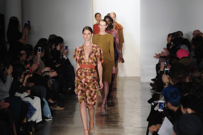 Costello Tagliapietra's fall 2012 collection.