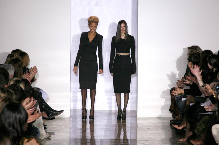 Cushnie et Ochs designers Carly Cushnie and Michelle Ochs.