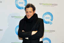 Designer Isaac Mizrahi attends QVC's New York Fashion Week runway show at Center 548 on February 8, 2012 in New York City.