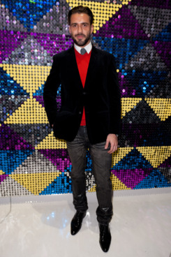 Lorenzo Martone attends the grand opening of the Galeria Melissa Flagship Store on February 8, 2012 in New York City.