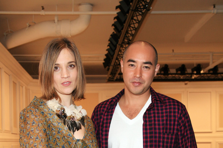 Suno designers Erin Beatty and Max Osterweis.