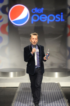 Simon Doonan attends Diet Pepsi Style Studio fashion Show Presented By Simon Doonan at Lincoln Center on February 9, 2012 in New York City.