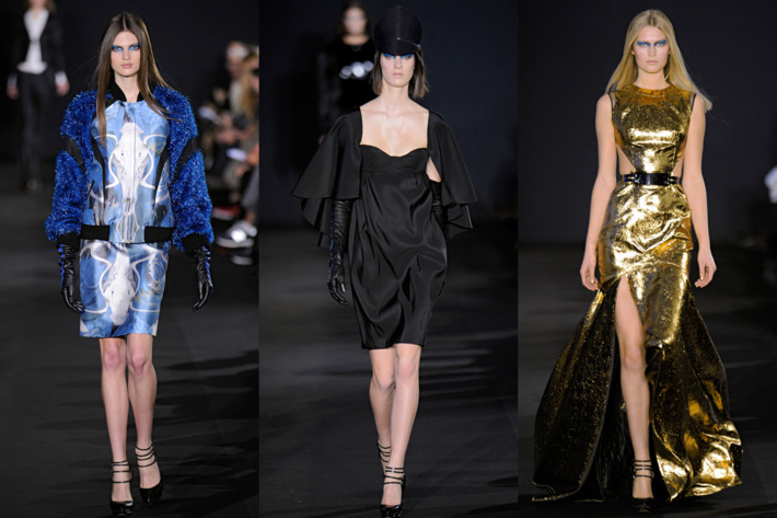 New looks from Prabal Gurung's fall 2012 collection.