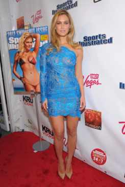 Sports Illustrated Swimsuit model Bar Refaeli attends SI Swimsuit Launch Party Hosted by Crimson at Crimson on February 14, 2012 in New York City.