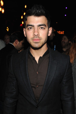 "Musician Joe Jonas attends the Samsung and AT&T, hosted by rag & bone, present the ""Fashion: Take Note Studio"" Valentine's Day Event featuring Band Of Horses at Dream Downtown on February 14, 2012 in New York City."